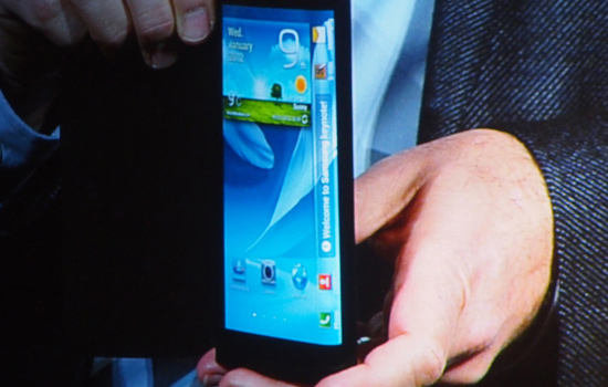 galaxy note 3 display flexibil